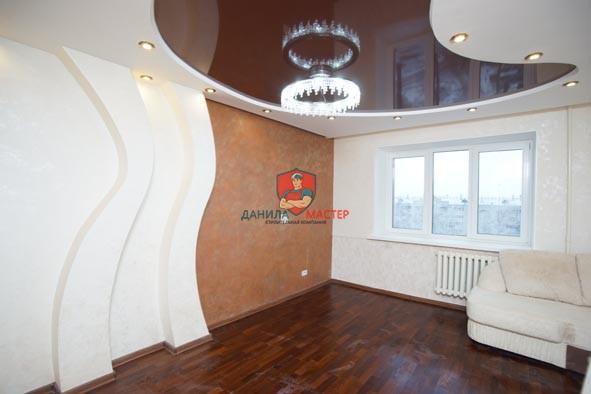 Ремонт трехкомнатной квартиры под ключ по адресу: г. Киров, ул. Ленина, 55