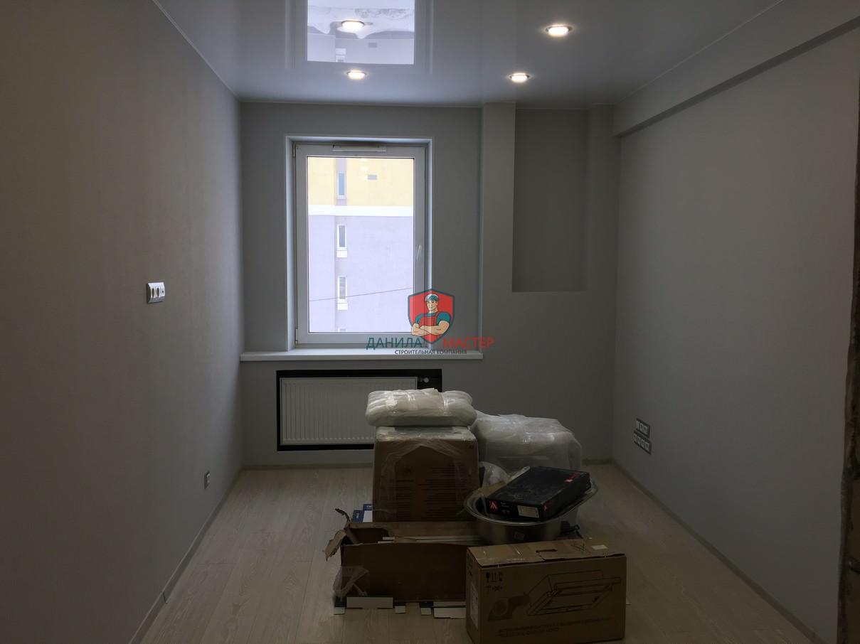 Ремонт двухкомнатной квартиры под ключ по адресу: г. Киров, ул. Чистопрудненская, 6