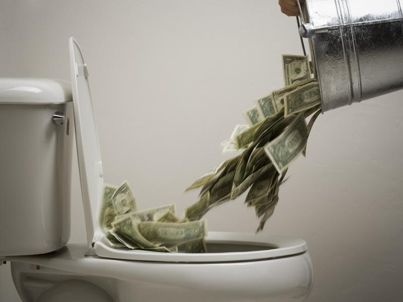 Статья о потерянном времени и потраченных деньгах