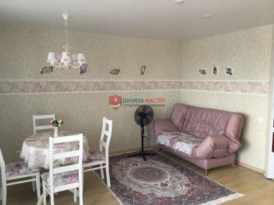 Ремонт двухкомнатной квартиры площадью 50,0 м2 под ключ в Кирове по адресу: ул. Профсоюзная, 4.